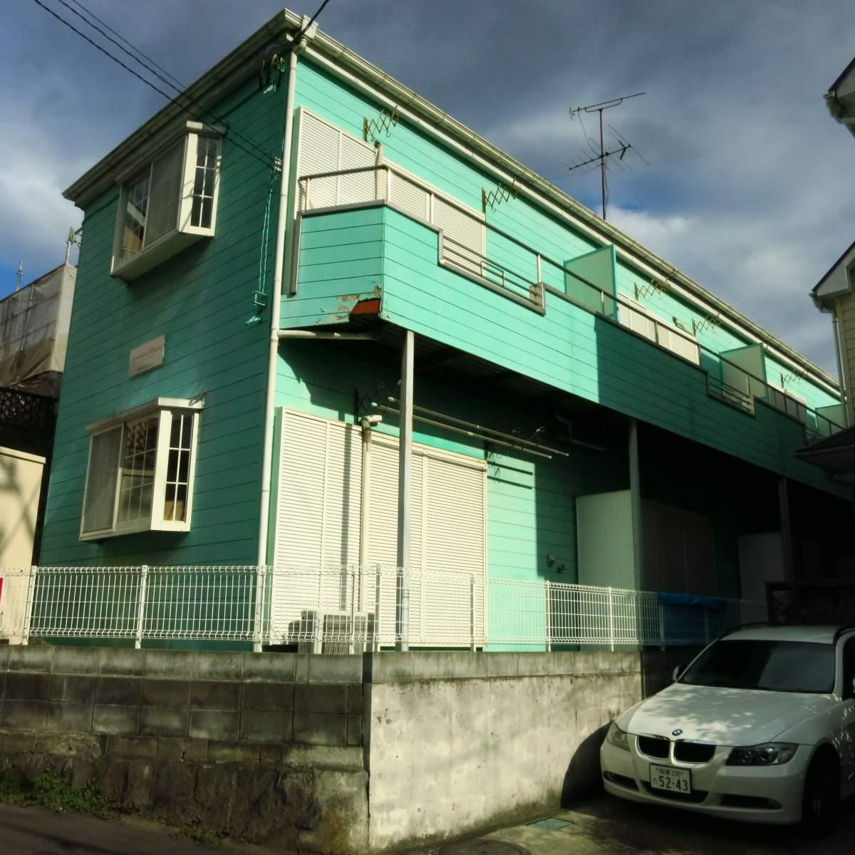 神奈川県座間市、相武台前駅徒歩5分の築28年 2階建の賃貸アパート