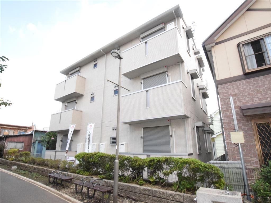 神奈川県座間市、小田急相模原駅徒歩14分の新築 3階建の賃貸アパート
