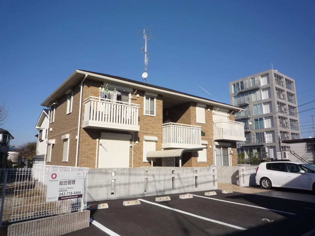 神奈川県座間市、小田急相模原駅徒歩20分の築9年 2階建の賃貸アパート