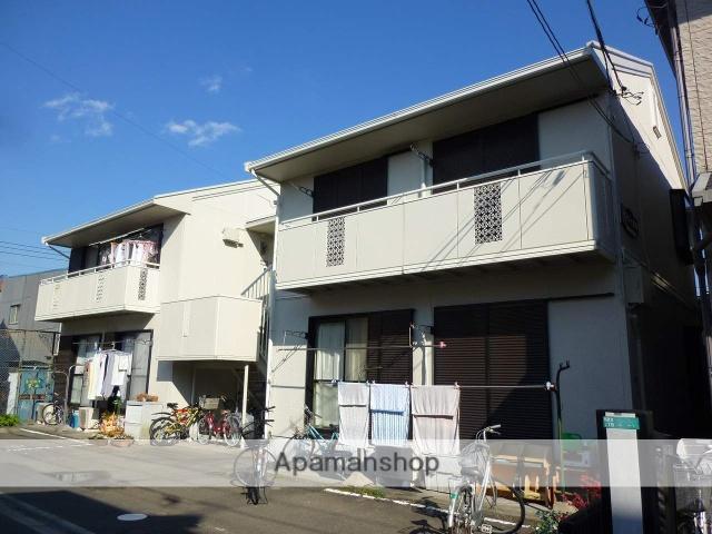 神奈川県相模原市南区、相武台前駅徒歩10分の築26年 2階建の賃貸アパート