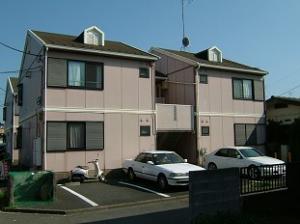 神奈川県相模原市南区、相武台前駅徒歩10分の築24年 2階建の賃貸アパート