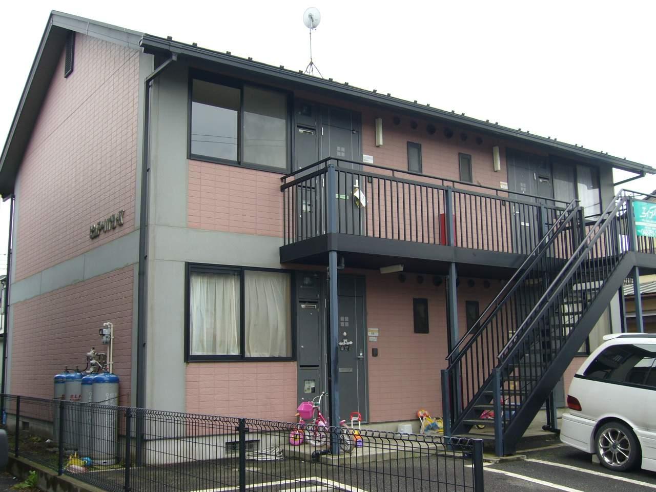 神奈川県相模原市南区、下溝駅徒歩17分の築19年 2階建の賃貸アパート