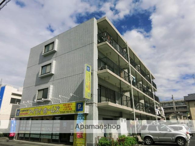 神奈川県座間市、小田急相模原駅徒歩6分の築26年 4階建の賃貸マンション