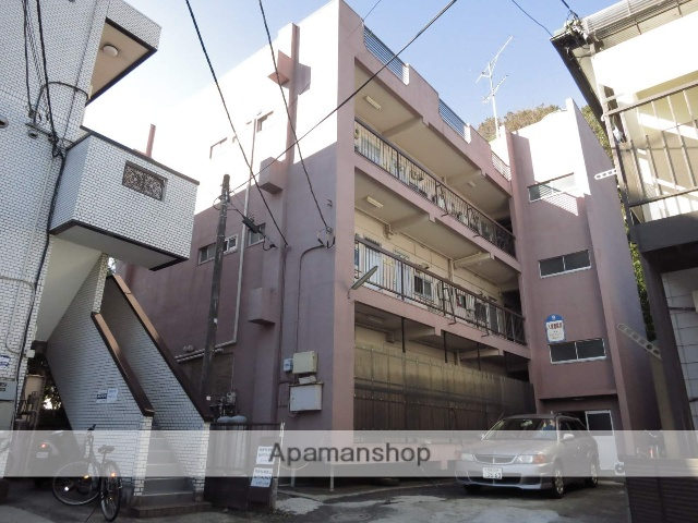 神奈川県相模原市南区、町田駅徒歩10分の築44年 3階建の賃貸マンション