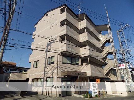 神奈川県相模原市南区、古淵駅徒歩29分の築25年 5階建の賃貸マンション