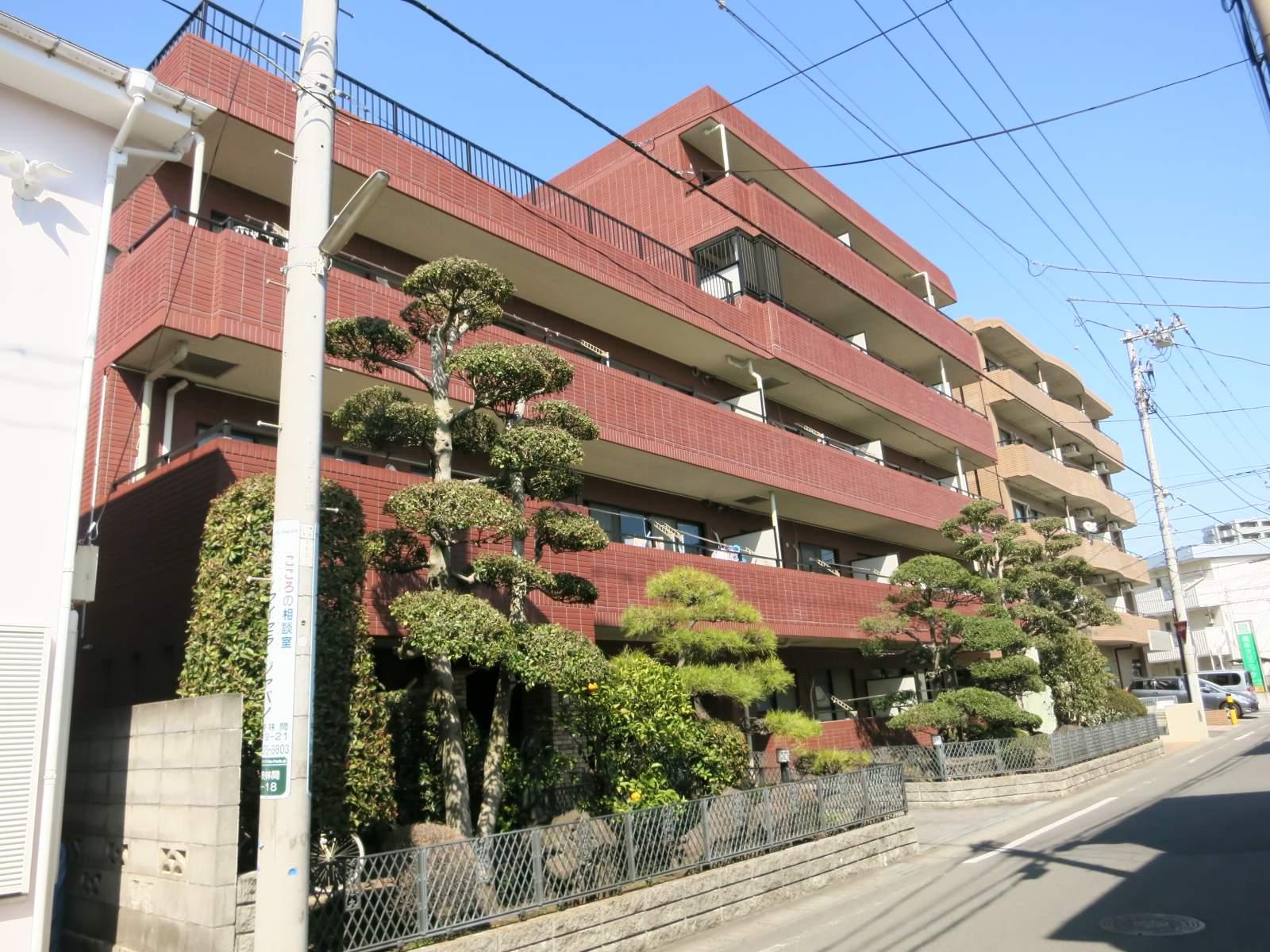 神奈川県大和市、東林間駅徒歩22分の築19年 5階建の賃貸マンション