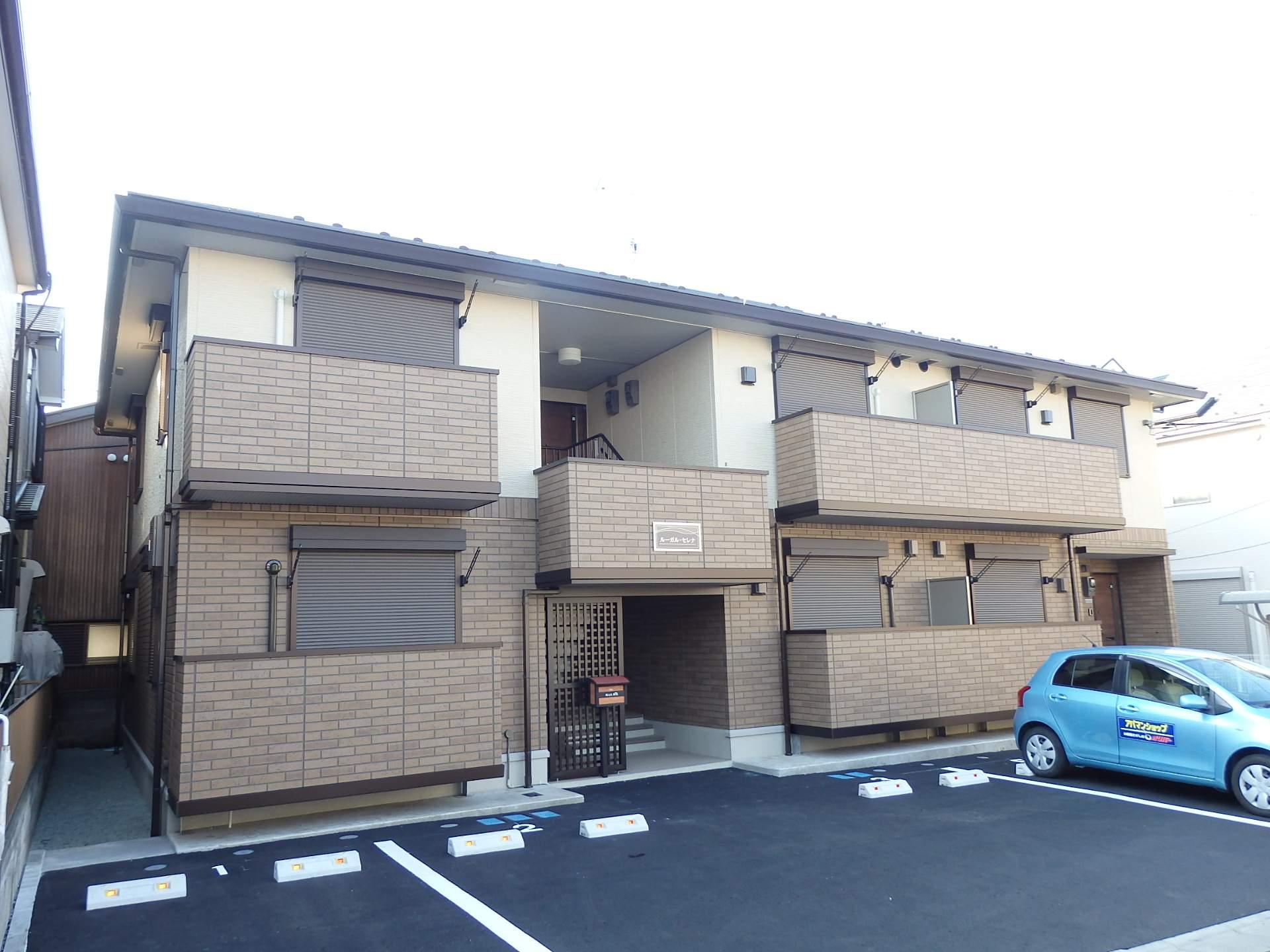 神奈川県座間市、南林間駅徒歩24分の築2年 2階建の賃貸アパート