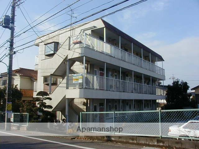 東京都町田市、玉川学園前駅徒歩15分の築34年 3階建の賃貸マンション
