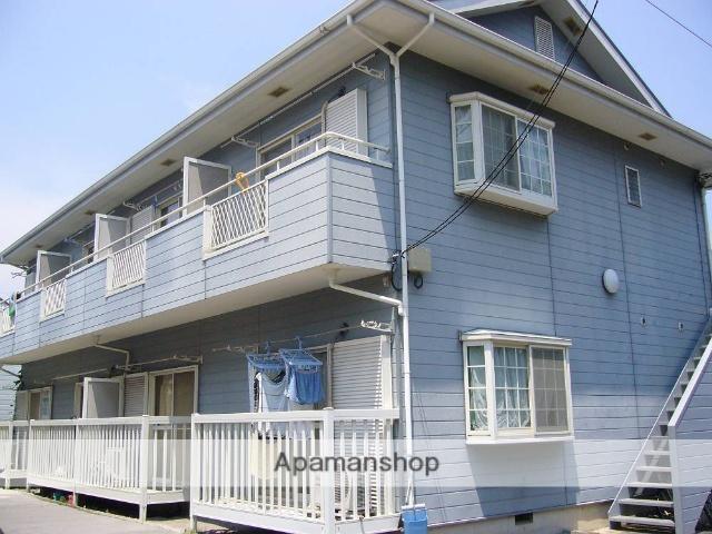東京都町田市、玉川学園前駅徒歩20分の築24年 2階建の賃貸アパート