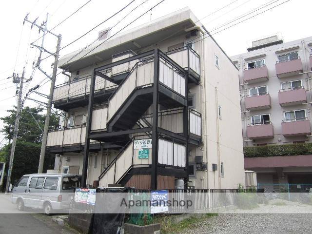 神奈川県相模原市南区、古淵駅徒歩26分の築34年 3階建の賃貸マンション