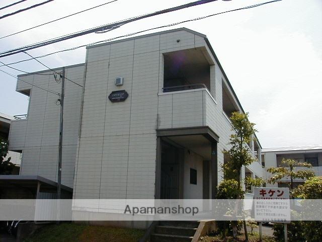 神奈川県相模原市南区、町田駅徒歩15分の築28年 2階建の賃貸アパート