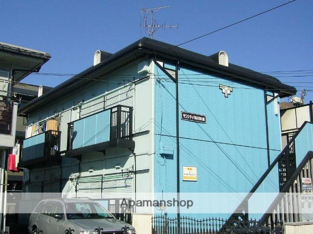 神奈川県相模原市南区、古淵駅徒歩22分の築25年 2階建の賃貸アパート