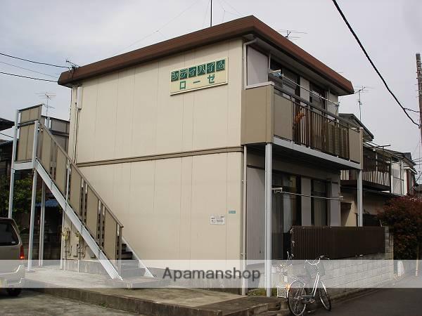 神奈川県相模原市南区、古淵駅徒歩10分の築27年 2階建の賃貸アパート