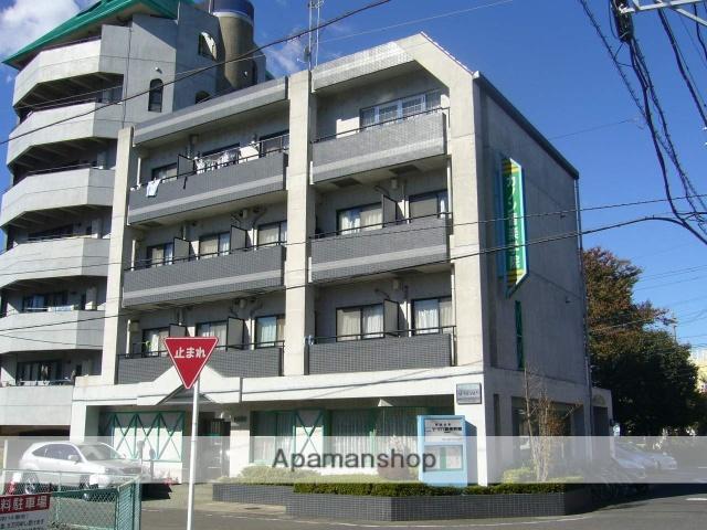 神奈川県相模原市南区、相模大野駅徒歩29分の築24年 4階建の賃貸マンション