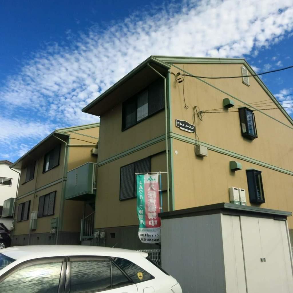 神奈川県相模原市南区、相武台下駅徒歩30分の築25年 2階建の賃貸アパート