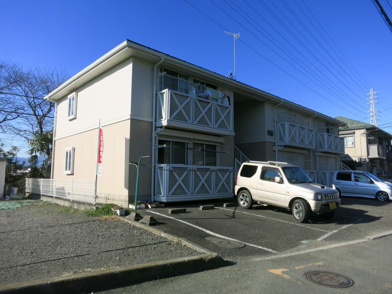 神奈川県相模原市南区、相武台下駅徒歩5分の築24年 2階建の賃貸アパート