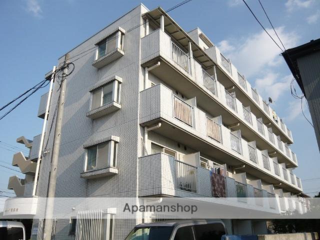 神奈川県相模原市南区、小田急相模原駅徒歩28分の築27年 4階建の賃貸マンション