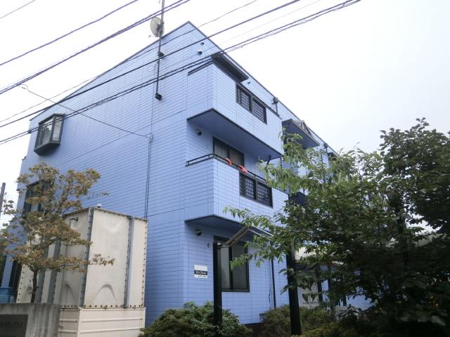 神奈川県座間市、相武台前駅徒歩15分の築24年 3階建の賃貸マンション