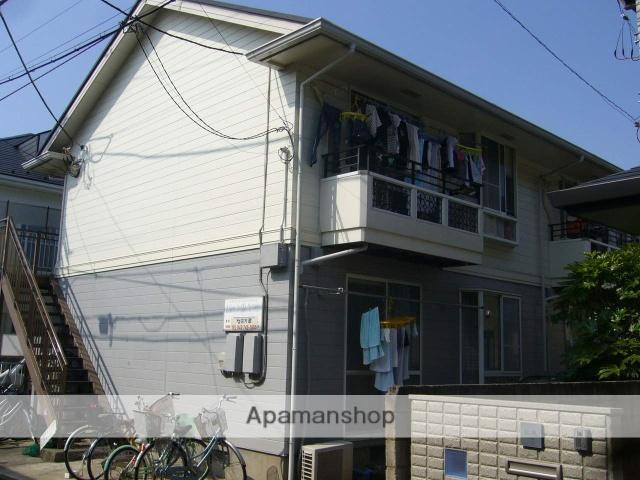 神奈川県相模原市南区、小田急相模原駅徒歩10分の築28年 2階建の賃貸アパート