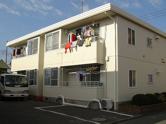 神奈川県相模原市南区、相武台前駅徒歩11分の築25年 2階建の賃貸アパート
