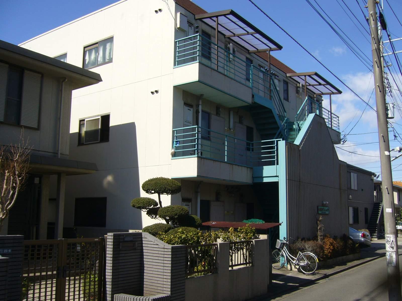 神奈川県相模原市南区、小田急相模原駅徒歩8分の築33年 3階建の賃貸マンション