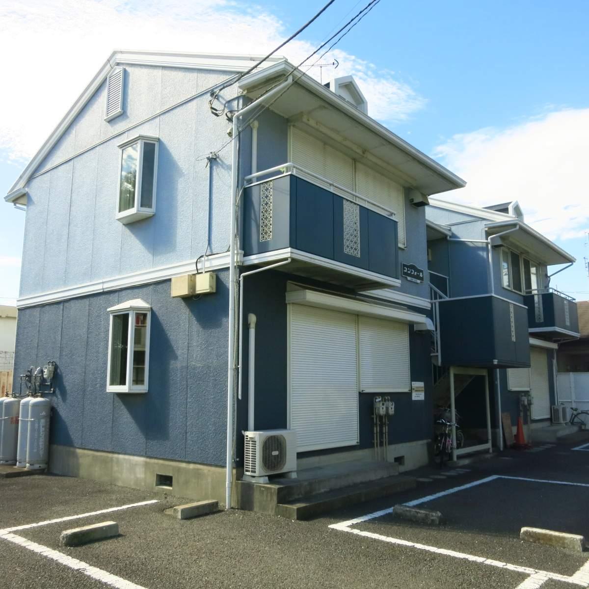 神奈川県相模原市南区、小田急相模原駅徒歩24分の築23年 2階建の賃貸アパート