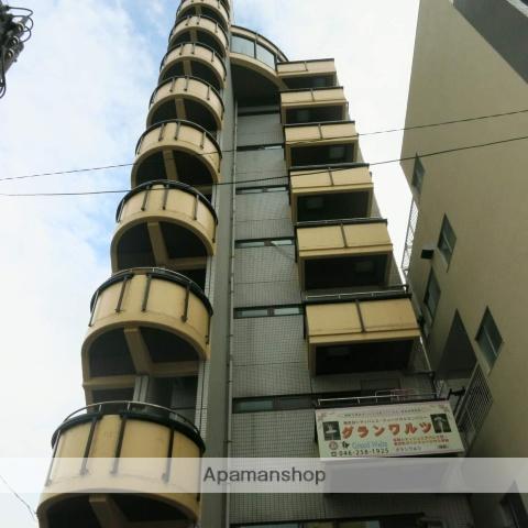 神奈川県座間市、小田急相模原駅徒歩26分の築25年 9階建の賃貸マンション