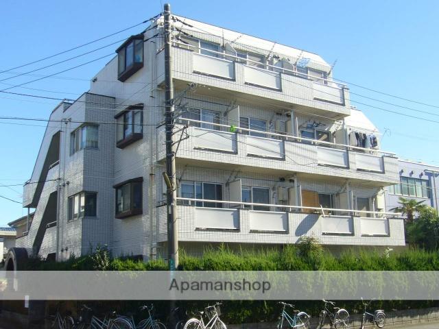神奈川県相模原市南区、小田急相模原駅徒歩7分の築28年 4階建の賃貸マンション