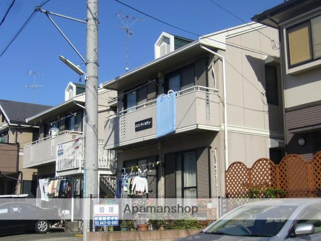 神奈川県相模原市南区、相武台前駅徒歩10分の築27年 2階建の賃貸アパート