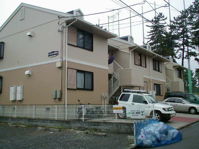 神奈川県相模原市南区、相武台前駅徒歩8分の築24年 2階建の賃貸アパート