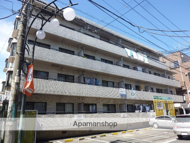 神奈川県相模原市南区、小田急相模原駅徒歩10分の築28年 4階建の賃貸マンション
