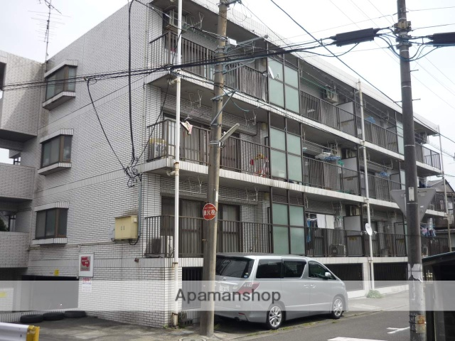 神奈川県相模原市南区、古淵駅徒歩13分の築28年 3階建の賃貸マンション