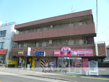 神奈川県相模原市中央区、淵野辺駅徒歩18分の築30年 3階建の賃貸マンション