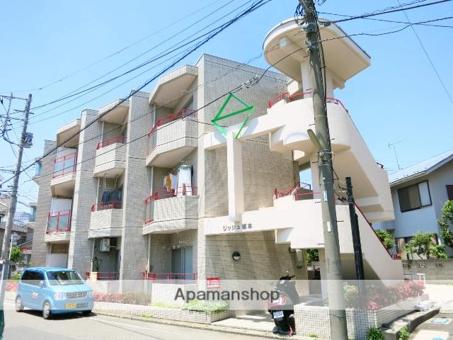 神奈川県相模原市緑区、橋本駅徒歩8分の築24年 3階建の賃貸マンション