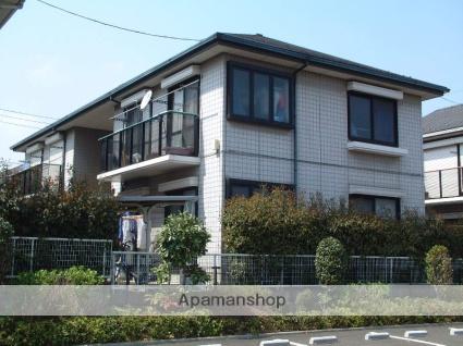 神奈川県相模原市緑区、橋本駅相模中央交通バス12分内出下車後徒歩2分の築22年 2階建の賃貸アパート