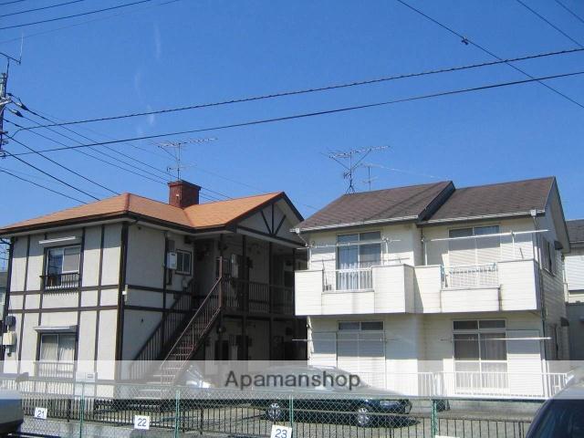 神奈川県相模原市中央区、古淵駅徒歩38分の築25年 2階建の賃貸アパート