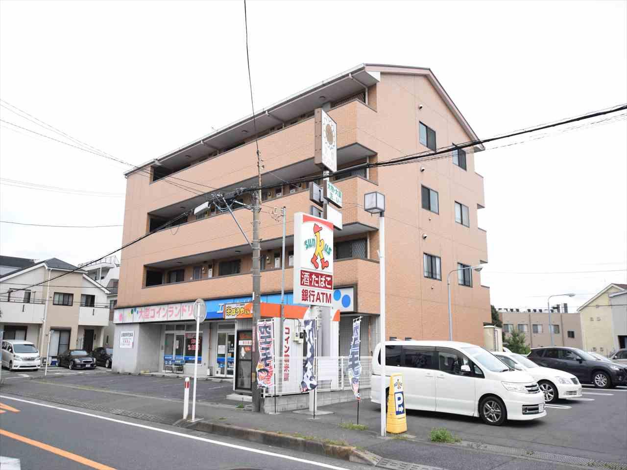 神奈川県相模原市中央区、淵野辺駅徒歩27分の築20年 4階建の賃貸マンション