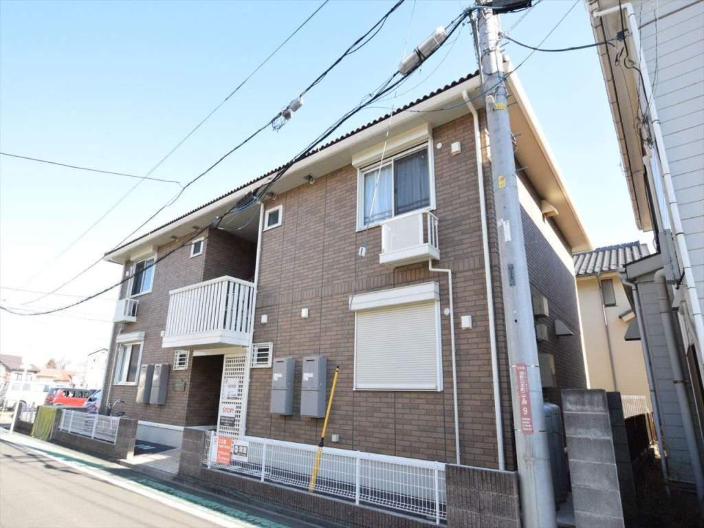 神奈川県相模原市中央区、淵野辺駅徒歩13分の築8年 2階建の賃貸アパート