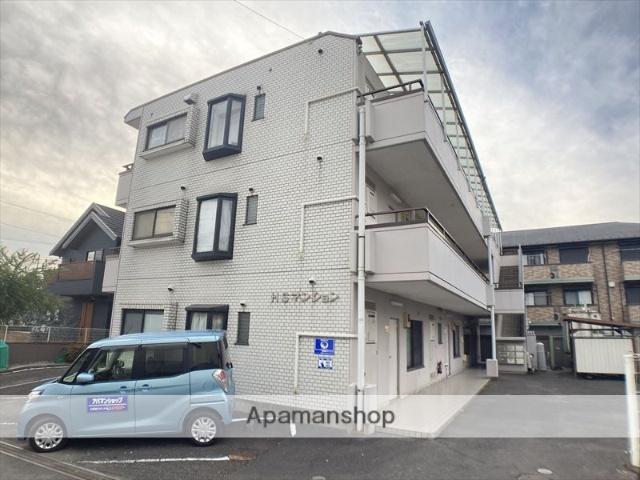 東京都町田市、橋本駅徒歩13分の築30年 3階建の賃貸マンション