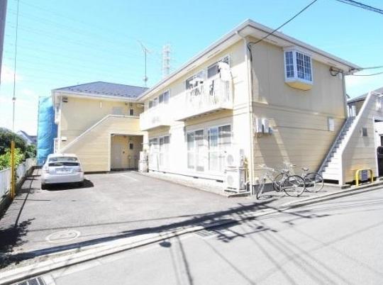 神奈川県相模原市南区、古淵駅徒歩4分の築25年 2階建の賃貸アパート