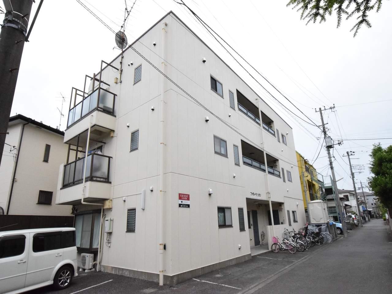 神奈川県相模原市南区、古淵駅徒歩13分の築27年 3階建の賃貸マンション