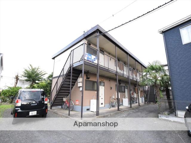 神奈川県相模原市中央区、矢部駅徒歩17分の築35年 2階建の賃貸アパート
