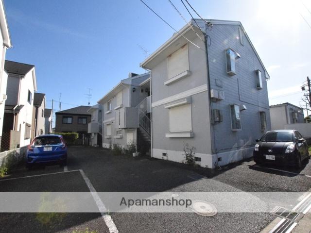神奈川県相模原市緑区、橋本駅バス10分森下下車後徒歩5分の築23年 2階建の賃貸アパート