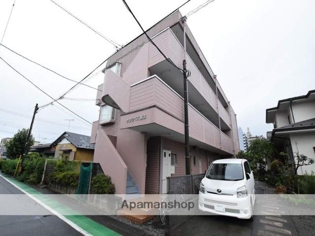 神奈川県相模原市緑区、橋本駅徒歩7分の築27年 3階建の賃貸マンション