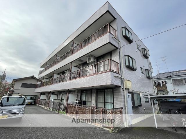 神奈川県相模原市中央区、矢部駅徒歩23分の築25年 3階建の賃貸マンション