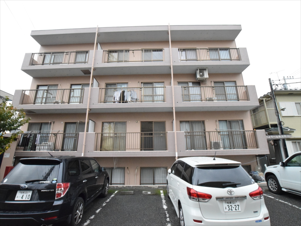 神奈川県相模原市中央区、古淵駅徒歩10分の築22年 4階建の賃貸マンション