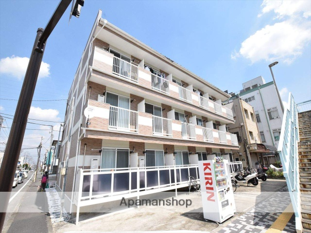 神奈川県相模原市中央区、矢部駅徒歩12分の築5年 3階建の賃貸アパート