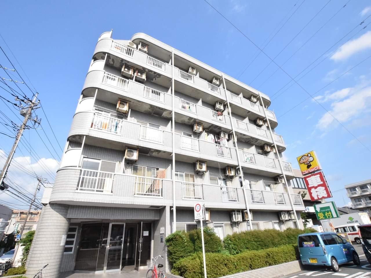 神奈川県相模原市緑区、橋本駅徒歩11分の築26年 5階建の賃貸マンション