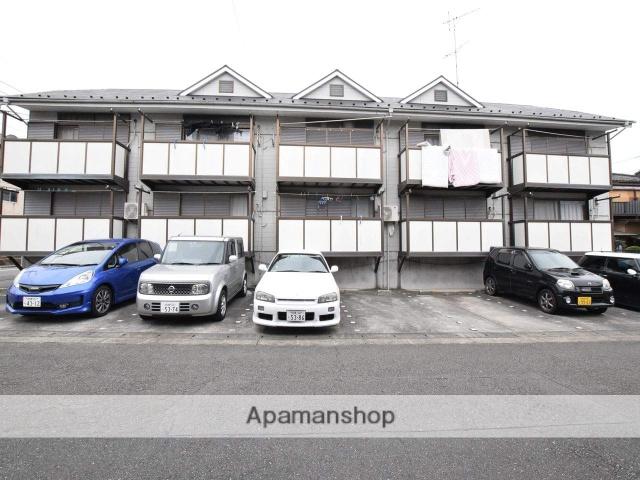 神奈川県相模原市中央区、古淵駅徒歩30分の築25年 2階建の賃貸アパート