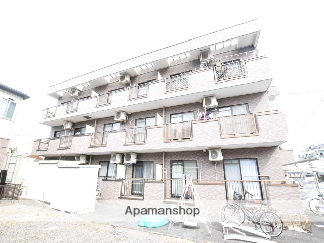神奈川県相模原市緑区、橋本駅徒歩12分の築24年 3階建の賃貸マンション